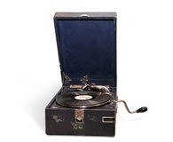 gramophone τρύγος Στοκ Εικόνα