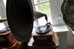 gramophone τρύγος Στοκ Εικόνες