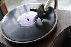gramophone τρύγος Στοκ φωτογραφία με δικαίωμα ελεύθερης χρήσης