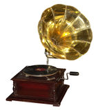 Gramophone -1. Old gramophone stock photo