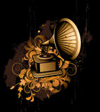 Gramophone Royalty Free Stock Photography