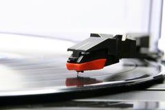 Gramophone. With vinyl disc - music Stock Photos
