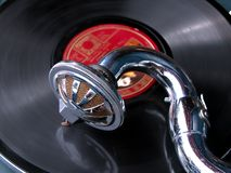Gramophone. My gramophone Stock Photo