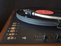 Gramophone στοκ φωτογραφία με δικαίωμα ελεύθερης χρήσης