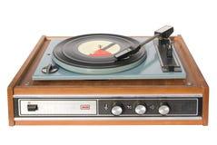 gramophone τρύγος αρχείων Στοκ Εικόνα