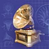 Gramophone. Computer generated model Royalty Free Stock Images