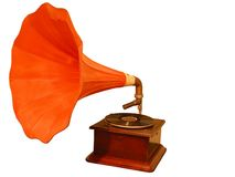 Gramophone Stock Photo