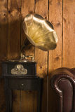 Gramophone. A Classical interior with gramophone Royalty Free Stock Photo