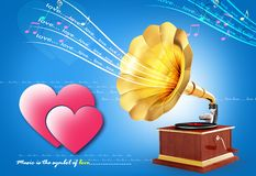 Gramophone Stock Photography