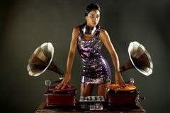 Gramophone dj Royalty Free Stock Photos