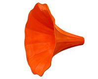 Gramophone funnel-clipping path Stock Photography