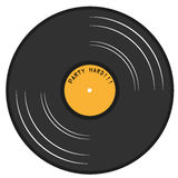 Gramophone lp record Royalty Free Stock Photo