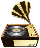 Gramophone, phonograph Royalty Free Stock Photo