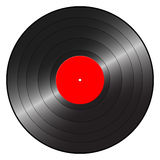 Gramophone record. On a white background. Vector illustration stock illustration
