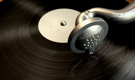 Gramophone And Record Royalty Free Stock Photo