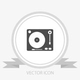 Gramophone vector icon Stock Photo