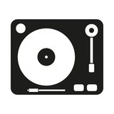Gramophone vector icon Royalty Free Stock Images