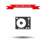 Gramophone vector icon Royalty Free Stock Photography