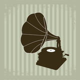 Gramophone vector 2 Royalty Free Stock Photography