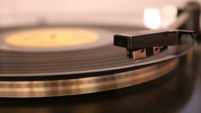 Gramophone stock video
