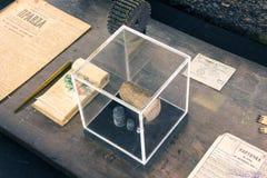 125 gramos de pan Fotografía de archivo libre de regalías