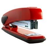 Grampeador vermelho Fotografia de Stock Royalty Free