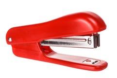 Grampeador vermelho imagem de stock