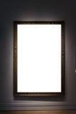 Grampeamento da placa da imagem da pintura de Art Museum Frame Vintage Ornate imagens de stock