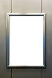 Grampeamento da placa da imagem da pintura de Art Museum Frame Vintage Ornate imagens de stock royalty free