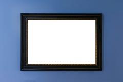 Grampeamento da placa da imagem da pintura de Art Museum Frame Vintage Ornate fotografia de stock