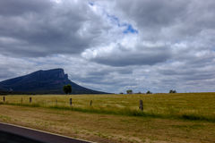 Grampians de la distance Photo stock