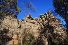 Grampians National Park Australia. Rock face from the Grampians National Park Australia royalty free stock photo