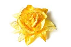Grampo de cabelo colorido da tela. Imagem de Stock Royalty Free