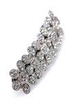 Grampo de cabelo enchido diamante Foto de Stock Royalty Free