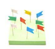 Grampos de papel Foto de Stock