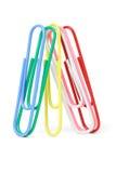 Grampos de papel Multicolor Foto de Stock Royalty Free