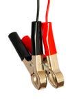Grampos elétricos Imagem de Stock