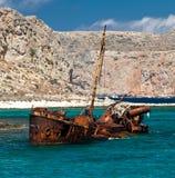 gramvousa海岛 免版税库存照片