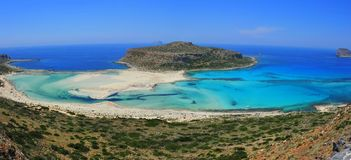 gramvousa Греция Крита пляжа залива balos Стоковое Изображение
