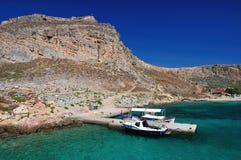 Gramvousa, Crete, Grecia Immagine Stock
