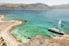 Gramvousa, Crete, Grecja Zdjęcie Stock