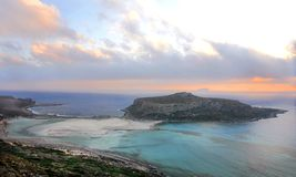 Gramvousa evening. Gramvousa bay, Crete, in the evening Royalty Free Stock Images