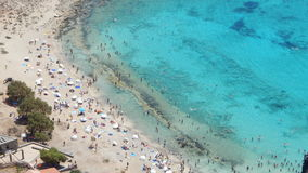 Gramvousa, Grecia Foto de archivo libre de regalías