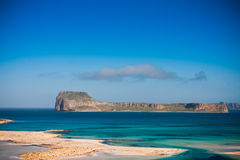 Gramvousa Island stock photo