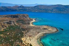 Gramvousa Island Royalty Free Stock Photo