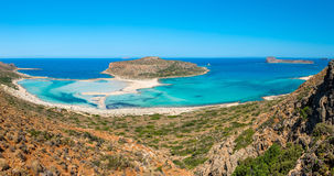 Gramvousa Island And The Balos Lagoon Stock Image