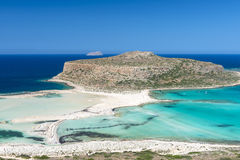 Gramvousa Island And The Balos Lagoon Royalty Free Stock Photography