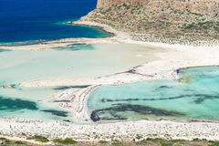 Gramvousa Island And The Balos Lagoon Royalty Free Stock Image