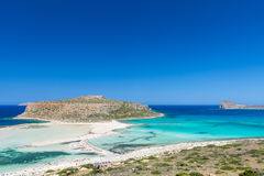 Gramvousa Island And The Balos Lagoon Royalty Free Stock Photos