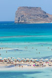 Gramvousa Island And The Balos Lagoon Stock Photos